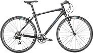 REID Men's Urban X0, XL Commuter And Folding Bike - Black, 130 x 40 x 20
