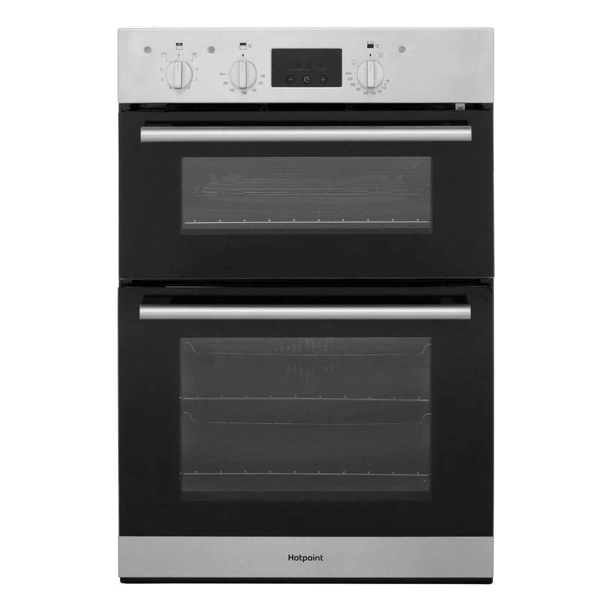 Hotpoint DD2540WH Built-In Double Oven Electric Fan A Energy White ...