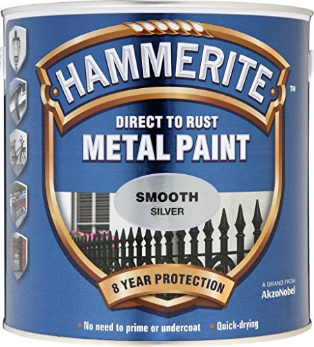 Hammerite Metallfarben-glatte 2.5L Silber