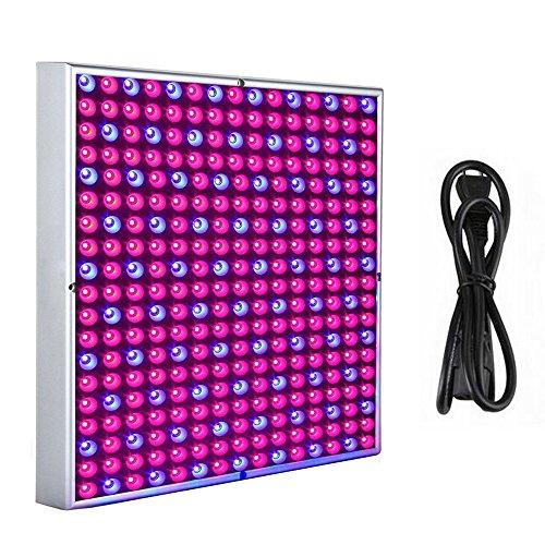 MCTECH 45 Watt 225 LEDs Rot&Blau LED-Pflanzenlampe Pflanzen Wachstumslampe Innengarten Pflanze Wachsen Licht Hängeleuchte Pflanzenleuchte Pflanzenlicht 2835 LED Chip 1.5m Kabellänge (45W) -