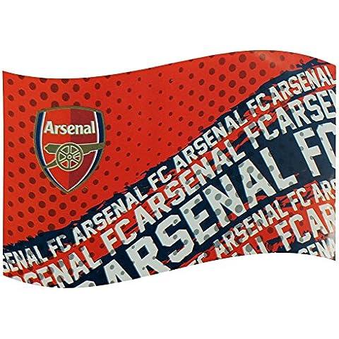 estilo bandera impacto club de fútbol Arsenal FC rojo partidario partido juego