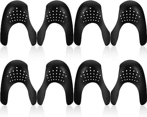 12 Paires de Protecteurs de Chaussures Boucliers D/écroissance de la Zone des Orteils /Éviter les Chaussures de Sneaker Pli Indentation Hommes 7-12// Femmes 5-8
