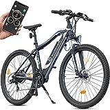 Bluewheel klappbares E-Bike BXB55 - 20 Zoll Pedelec mit Smartphone APP E-Citybike mit 250W Bafang Heckmotor 36V 13Ah Akku, Shimano Gangschaltung, Scheibenbremse, E-Klapprad bis 24 km/h Elektro-Fahrrad (BXB75)