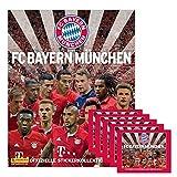 Panini - FC Bayern München Kollektion 2016 2017 Set Sammelalbum + 5 Booster Packungen Sammelsticker 25 Sticker - Deutsche Ausgabe