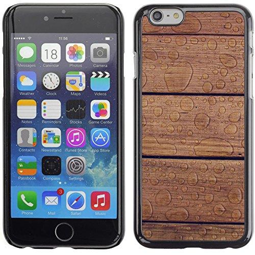 Graphic4You WET WOODEN PLANKS Muster Harte Hülle Case Tasche Schutzhülle für Apple iPhone 6 Plus / 6S Plus Design #19