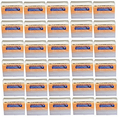 (Pack of 30)Premium Maximum Whitening/Peeling Soap - Glutathione, Arbutin, & Kojic acid -prime maximale Blanchiment / Peeling Savon - glutathion, arbutine, l'acide kojique et