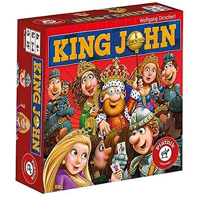 Piatnik King John Qui retrouvera en Premier Les invités du Roi, 6598