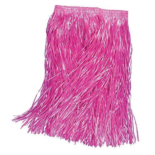 Bristol Novelty BA2802 Grasfaser Rock, Rosa, Unisex- Erwachsene rose Einheitsgröße (Tourist-halloween-kostüme Für Erwachsene)