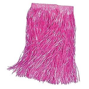 Grass Skirt Pink Child (B60) (disfraz)