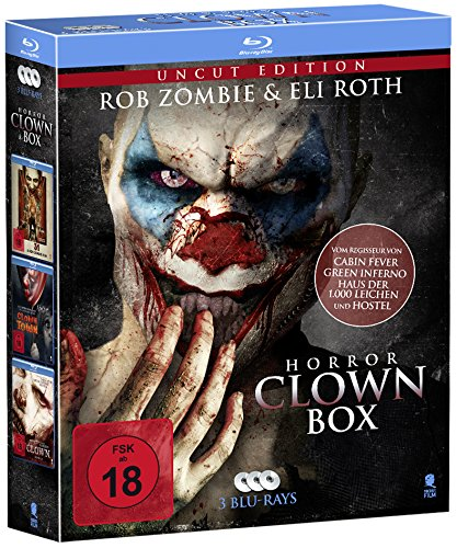 Horror Clown Box (3-Disc Set) (UNCUT) [Blu-ray]