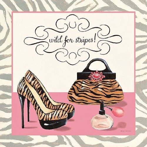 PRONTA da-quadro - Marco Fabiano: Wild for Stripes 30 x 30 cm