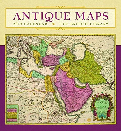 Antique Maps 2019 Wall Calendar