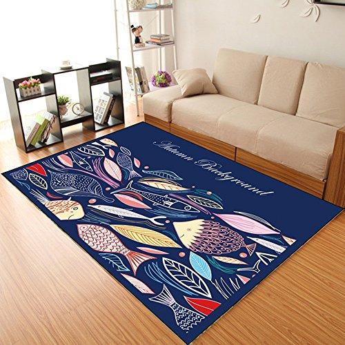 Rechteck-matte Stuhl (CarPET Flashing- Kreative Persönlichkeit Kinderzimmer Rechteck Teppich Schlafzimmer Wohnzimmer Computer Stuhl Matten (größe : 160 * 230cm))