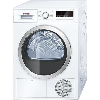 Bosch Serie 4 WTH85290FF Autonome Charge avant 8kg A++ Blanc sèche-linge - Sèche-linge (Autonome, Charge avant, Pompe à chaleur, Blanc, Rotatif, Tactil, Droite)