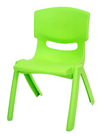 High Quality Green Stackable Kids Children Plastic Chair Amazon