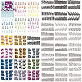 KADS New Image Nail Art Flower Trasferimento Sticker Bellezza Nail Art Decal strumento di decorazioni (4)