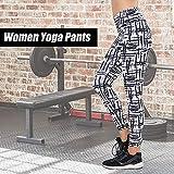 Festnight Women Yoga Pants Fitness Leggings Workout Sports Running Leggings Gym Wear Pants