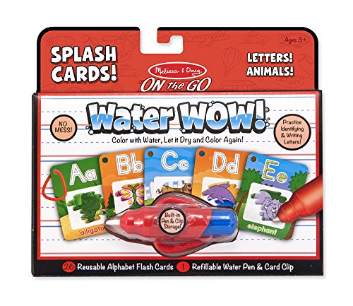 Preisvergleich Produktbild Water Wow! Splash Cards Alphabet: Activity Books - On the Go