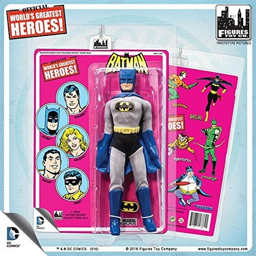 Action Figuren-DC RETRO STYLE Series Mego Batman 20,3cm dcmego107