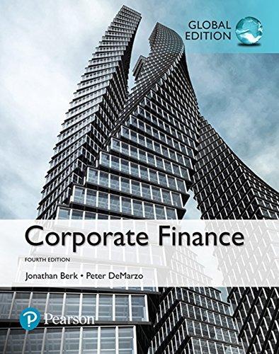 Corporate Finance, Global Edition (English Edition)