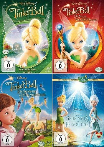 + 4 Feen-Quadrilogy (Walt Disney) (4-Disc) ()
