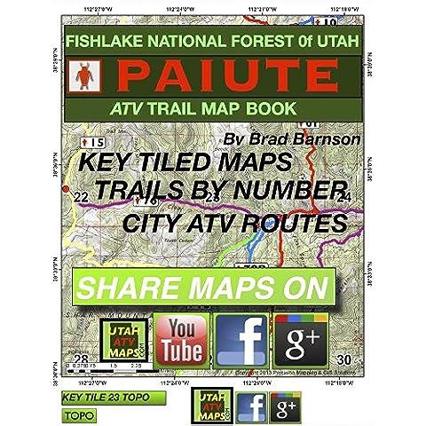 Paiute ATV Trail Map Book (English Edition)