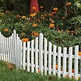 #8: Wonderland folding Garden fence ( pack of 4) picket fence made of PP/PVC/Plastic for garden decor