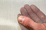 Wire Mesh Aluminium - Medium 500mm x 3mtr