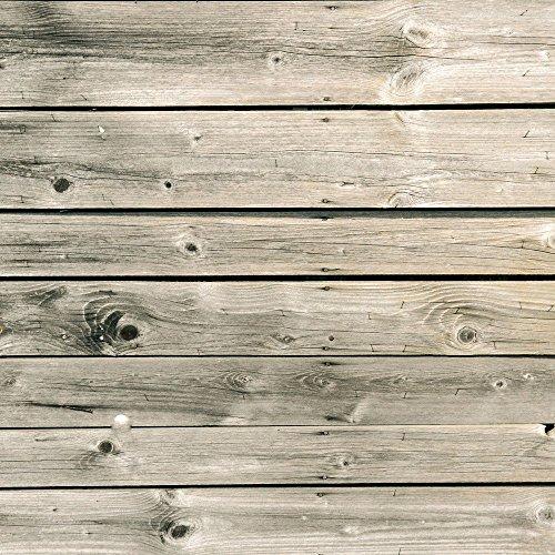 Apple iPhone 4 Housse Étui Silicone Coque Protection Lattes de bois grises Look bois Planches Étui en cuir bleu marine