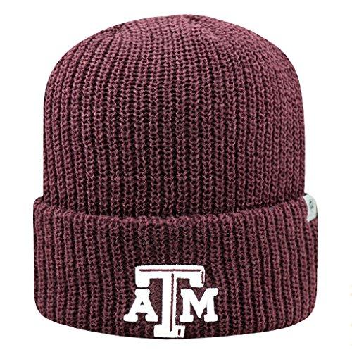 Texas A & M Aggies offiziellen NCAA Heavy Strumpf Cuffed Knit Beanie Hat Cap 261823 -
