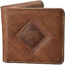 bolso medallón de brujo Lobo Logo Wild Hunt billetera marrón 9 ...