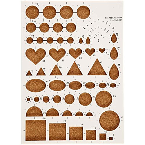 Creavvee® Quilling Board Schablone 15 x 21 cm -