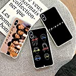 ASJK Friends Season TV Clear TPU Phone Case Cover Shell for Apple iPhone 8 7 6 6S Plus X XS MAX 5 5S SE XR Mobile Cover