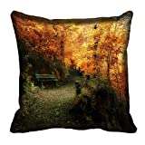 meSleep Nature 60-138 Digitally Printed Cushion Cover (16x16) best price on Amazon @ Rs. 175