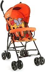 LuvLap Tutti Frutti Baby Stroller Buggy (Orange)