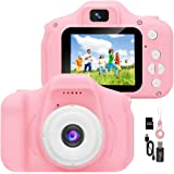YunLone ToyZoom Fotocamera Bambini1080P Macchina Fotografica per Bambini Digitale Portatile Mini DV Videocamera per Bambine 2