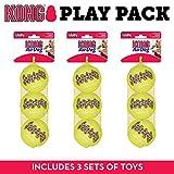 Best Juguetes para perros Kong para perros grandes - Kong Squeak Air - Pelota de Tenis de Review