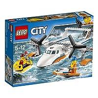 Lego 60164Salta nella cabina di pilotaggio e parti per una missione di salvataggio in mare aperto! Ma cos'è quella luce? Sorvola la zattera di salvataggio e individua il passeggero in difficoltà prima di atterrare con l'aereo, quindi abbassa il porte...