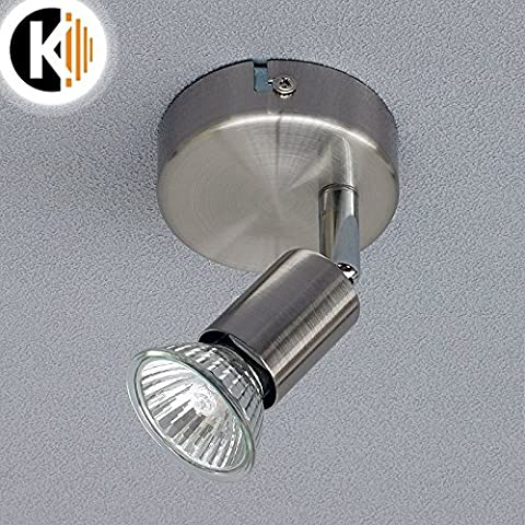 LED Halogen REBECCA Wand-/Deckenleiste Deckenleuchte Deckenlampe Lampe verstellbar 230V inkl. eko halogen 42W (Rebecca