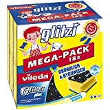 Vileda Glitzi Plus Lot de 4 boîtes de 18 éponges