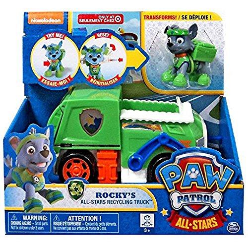 Paw Patrol - Rocky's All-Stars Recycling Truck