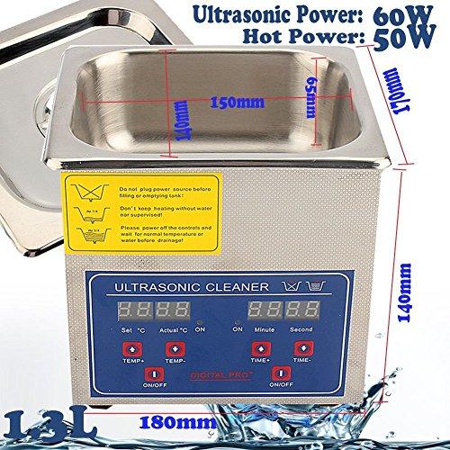 ultraschallreiniger flüssigkeit test