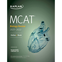 MCAT Biology Review 2021-2022: Online + Book (Kaplan Test Prep) (English Edition)