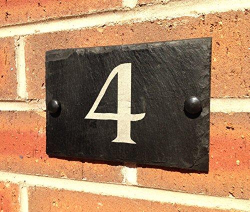 Número de dirección para puerta de casa
