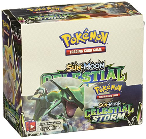 Pokémon 81438Sonne und Mond Celestial Storm Booster Display, Mehrfarbig