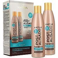Kativa - Kit Mantenimento Stiratura Brasiliana con Shampoo e Balsamo - Trattamento Intensivo Protettivo e Riparatore con…