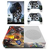XBox One Slim + 2 Controller Aufkleber Schutzfolien Set - ARK: Survival Evolved /One S