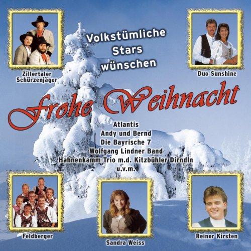 Volkstümliche Stars wünschen Frohe Weihnacht