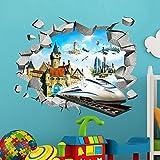 Stile: Cartone animatoClassificazione: per parete, per piastrelle, adesivi mobiliModello: 3D StickerSpecifica: Pacchetto monopezzoTema: PatternScenari: MuroMateriale: PVCColore: treno DreamtimeContenuto: cielo blu di Santorini del Mar EgeoQualità: Pr...