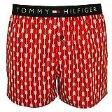 Tommy Hilfiger Arrow Stripes Woven Men's Boxer Short, Red